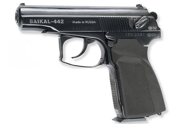 Пистолет Байкал 442