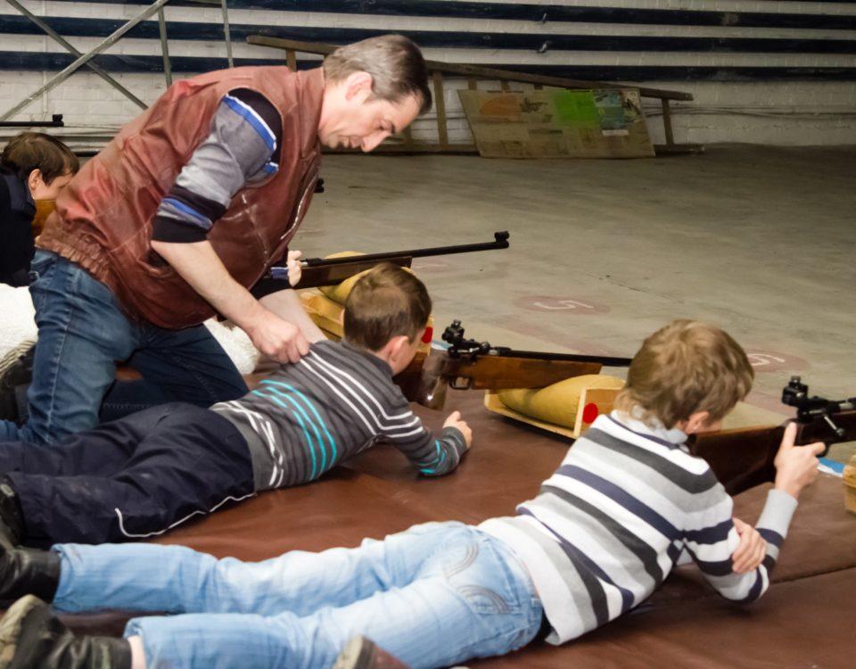 Детская секция пулевой стрельбы