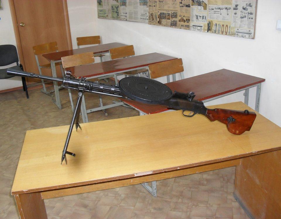 ДП-27 пулемет Дегтярёва в нашем тире