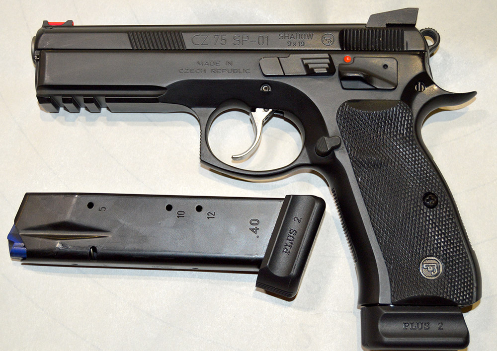 Пистолет CZ 75 SP-01