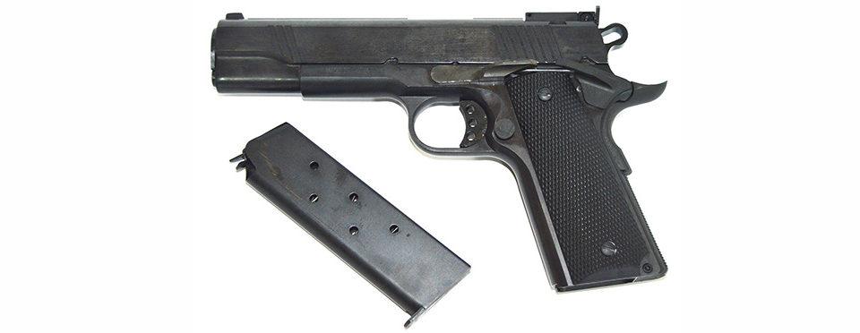 Пистолет Colt 1911 кал. 45АСР
