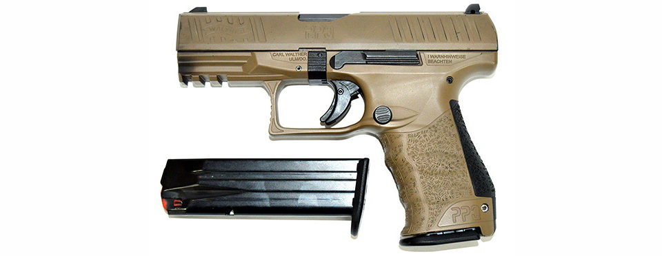 Пистолет Walther PPQ кал. 9х19мм