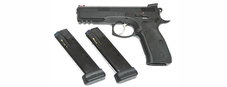 Пистолет CZ 75 SP-01кал. 9х19мм