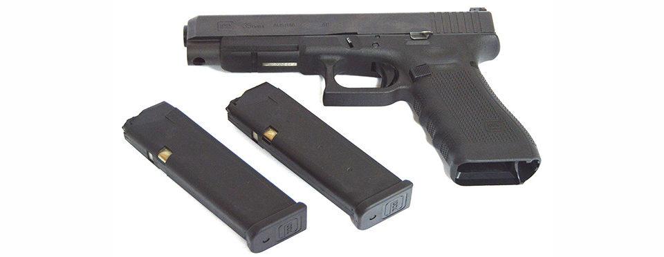 Пистолет Glock 35 Gen.4 кал. 40S&W