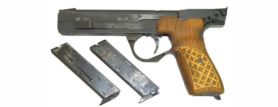 Пистолет ИЖ-35 кал. 5,6мм